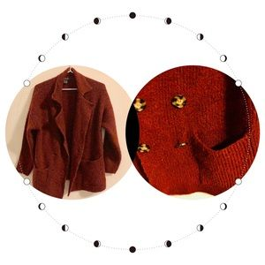 Forever21/F21 - Red Wool Jacket/Blazer